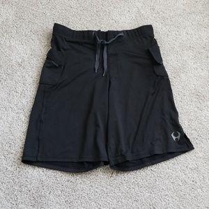 Hylete Black Active Shorts